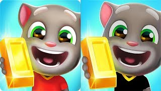 Talking Tom Gold Run Android Gameplay - Frosty Tom vs Cowboy Angela vs Boss Fight