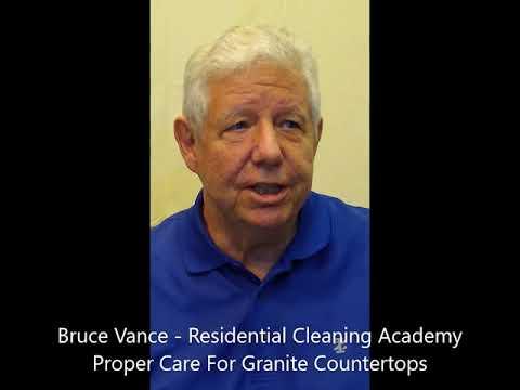 HCT Certification - Granite Countertop Care