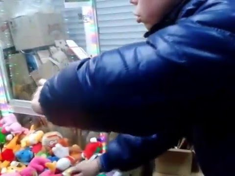 Как правильно нужно доставать мягкие игрушки из автомата. (Niko vsToys)
