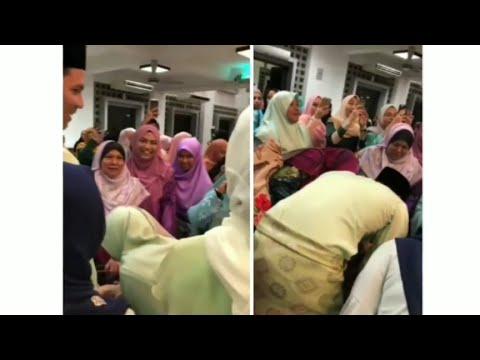 Sweet Fazura&Fatah Amin Mencium Tangan Opah Fatah Yang Telah Lama Merindui Cucu&Menantunya!
