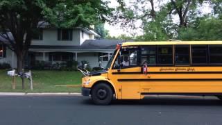 N & L coming home by school bus