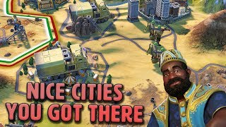 Nice Cities You Got There China... - Mali [#15] - Civilization VI Gathering Storm