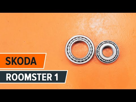 How to replace front shock absorber bearing SKODA ROOMSTER 1 TUTORIAL | AUTODOC
