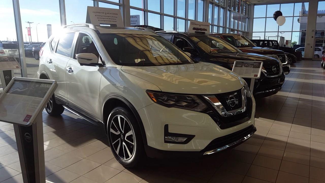 2017 Nissan Rogue Sl Pearl White Beige Interior Sherwood