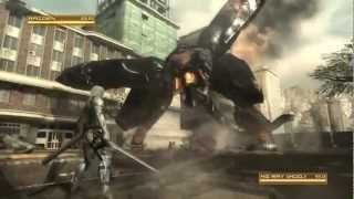 Скачать Metal Gear Rising MG RAY Boss Battle S Rank Revengeance Mode