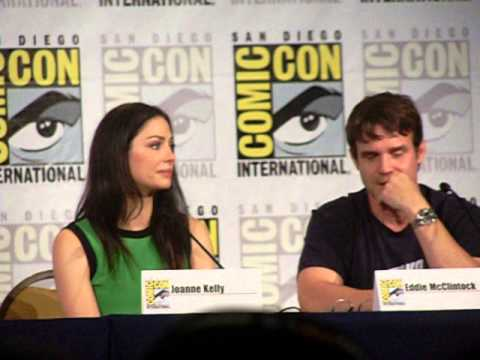 Warehouse 13 SDCC  Eddie talking about the end of the