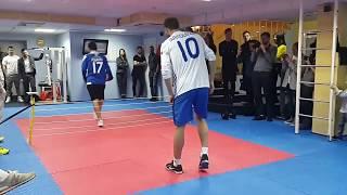 Рыбалка против Ярмоленко в финале турнира по теннисболу