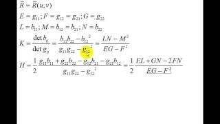 Дифференциальная геометрия | гауссова и средняя кривизны | вычислительные формулы(JOIN VSP GROUP PARTNER PROGRAM: https://youpartnerwsp.com/ru/join?92473., 2015-07-07T17:51:26.000Z)