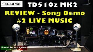 Eclipse TD510Z MK2 Speakers REVIEW Song Demo 2 Chord QUTEST Hugo M Scaler BEAST MODE McIntosh hifi
