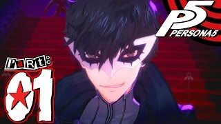 Persona 5 - Part 1 - Let's Start the Game