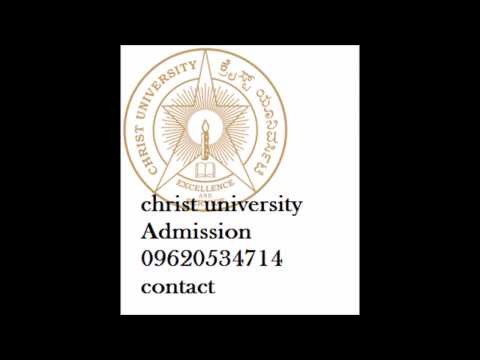 #096205-34714 christ university distance mba , bcom admission | postgraduate courses 2017