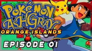 Pokemon Ash Gray Orange Islands Episode 01 - Pidgeot! Gameplay Walkthrough