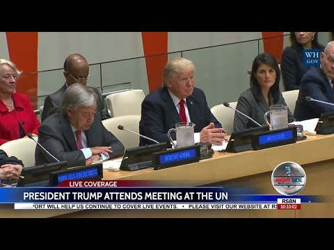 LIVE Stream: President Donald Trump Meeting at the United Nations 9/18/17