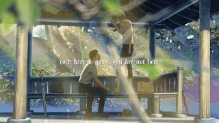 Cold Hart - You Are Not Here (ft. Goa) [prod. fish narc & yawns]