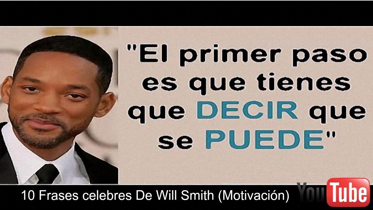 Frases Sábias: 10 Frases Celebres De Will Smith (Motivación)