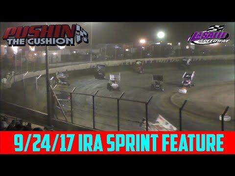 LaSalle Speedway - 9/24/17 - IRA Sprints - Feature