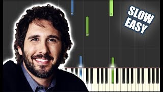 You Raise Me Up - Josh Groban | SLOW EASY PIANO TUTORIAL by Betacustic