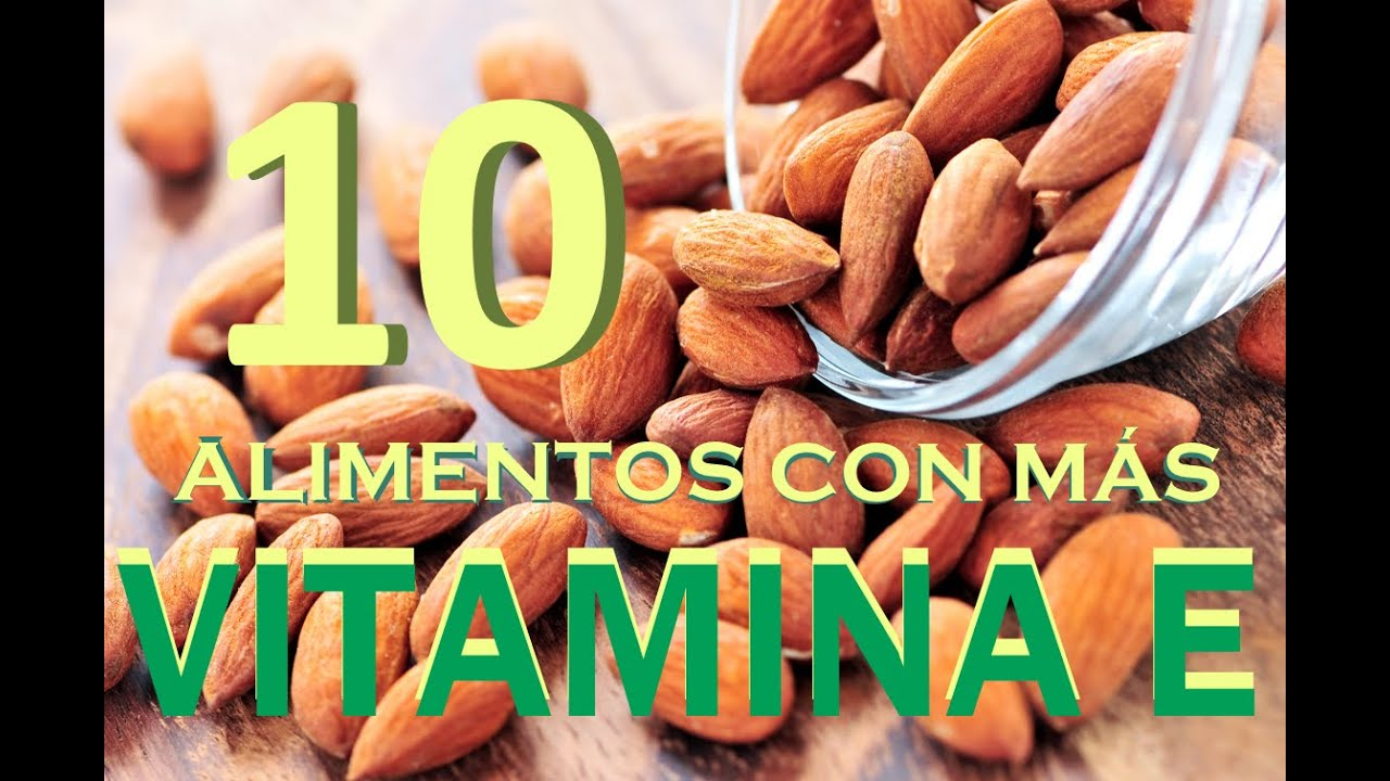 Top 10 alimentos con m s vitamina e youtube for Comidas con d