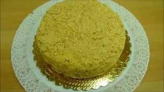 Как сделать Торт Наполеон Простой Рецепт /Torta Millefoglie