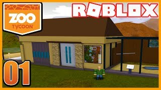 CREATING MY OWN ZOO in ROBLOX! *NEW GAME* (Roblox Zoo Tycoon)