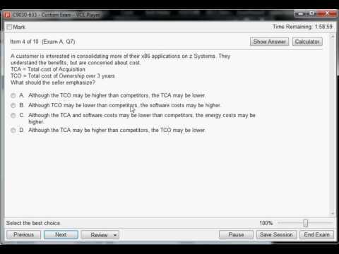 C9030-633 IBM z Systems Solutions Sales V7