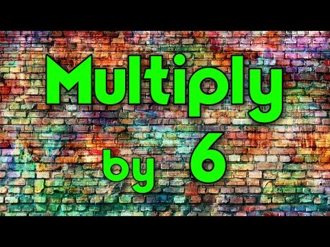 Multiply  6  Learn Multiplication  Multiply  Music  Jack Hartmann