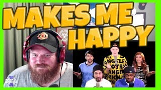 G'day guys, today we are reacting to PTX singing Happy. This song m...
