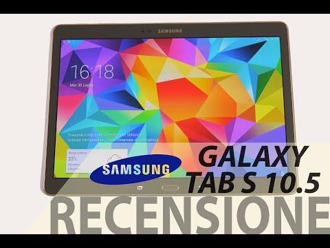 Samsung Galaxy Tab S 10.5, recensione in italiano