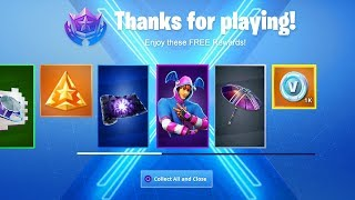 31 FREE Items in SEASON X of Fortnite! (CLAIM NOW)!