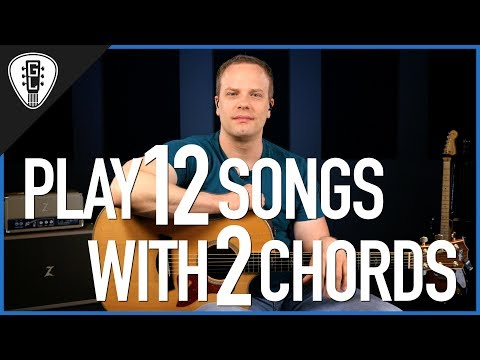 Play 12 Songs With 2 Chords - Guitar Lesson Video