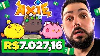 """""""Investi"""" R$7.027,16 No Jogo Axie Infinity e Eis O Que Aprendi... (Vale a pena?)"""