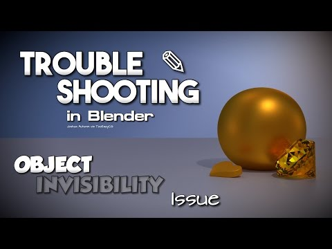 How to fix object/mesh invisibility in final render || Blender Troubleshooting Tutorial
