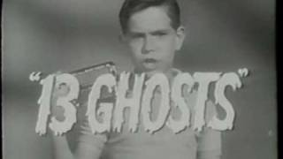 13 Ghosts TV trailer 1960