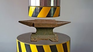 HYDRAULIC PRESS AGAINST THE ANVIL