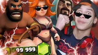 Ataques Con Valkirias & MontaNiggis! - Clash Of Clans New Update!