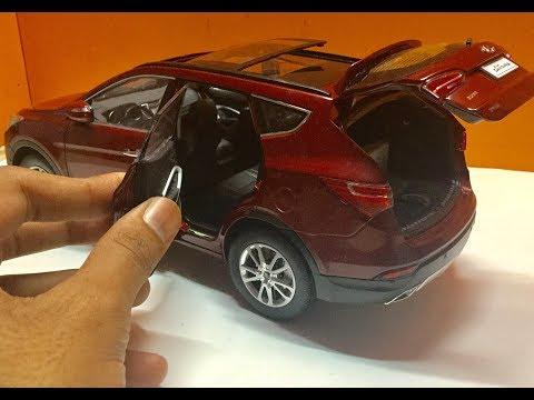 Diecast Unboxing-2014 Hyundai Santa FE 1/18 Paudi Models