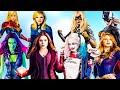 MARVEL GIRLS vs DC GIRLS |  Survivor Series | WWE 2K18 (Filipino)
