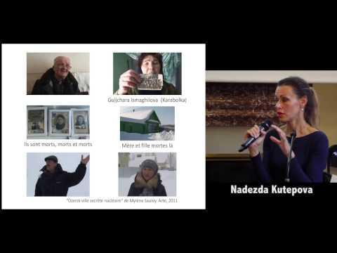 """Exposé-débat """"Désastres nucléaires à Mayak en Russie"""", 27 septembre 2016, Paris"""