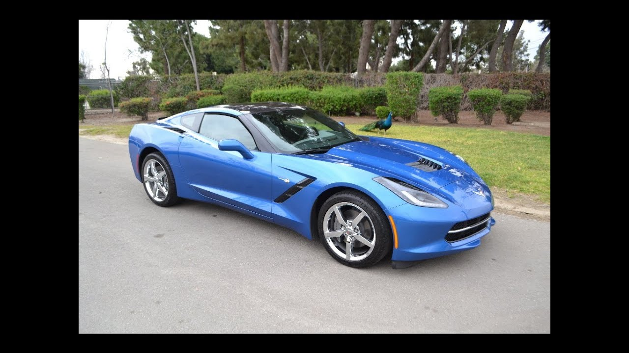Sold 2014 Chevrolet Corvette Coupe Laguna Blue For Sale By