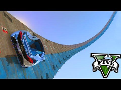GTA V Online: MEGA RAMPA INCRÍVEL para o CÉU!!! - Corrida INSANA #789