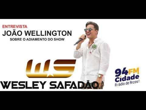 Entrevista João Wellington  Radio Cidade 12/09/2017