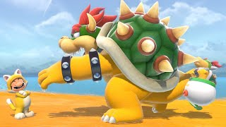 Super Mario 3D World + Bowser's Fury - Final Boss & 100% Ending