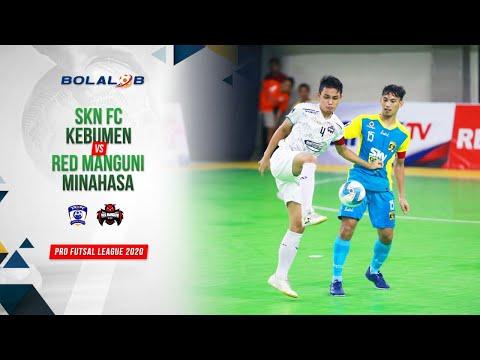 SKN FC Kebumen (4) Vs (3) Red Manguni Minahasa  Highlights Pro Futsal League 2020