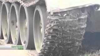 Пашет на танке