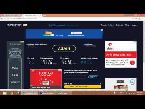 Hathway Speed Test Chennai Updated