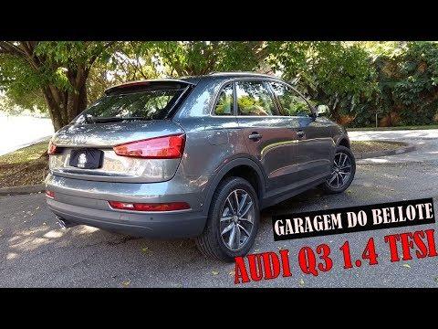 Garagem do Bellote TV: Audi Q3 1.4 TFSI Flex produzido no Brasil