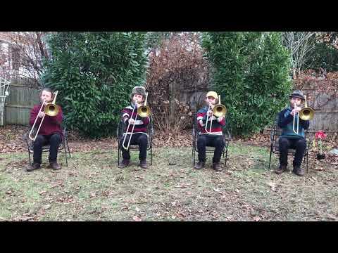 Their Hearts Were Full Of Spring - Trombone Quartet by Sammy Mellman