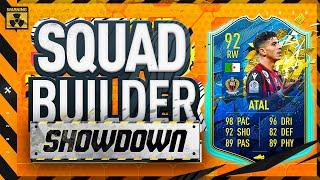 Fifa 20 Squad Builder Showdown Lockdown Edition!!! TEAM OF THE SEASON ATAL!!!