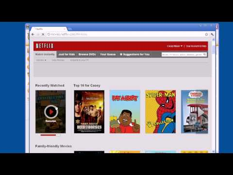 Demo: Watch Netflix or Hulu while Overseas