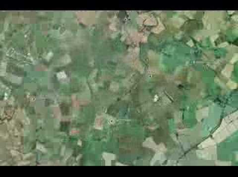 Teletubbieland secret location on Google Earth - YouTube